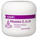 비타민 E, A & D 크림 (2온스), GNC Vitamins E, A & D Moisturizing Cream 2oz