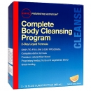 프리벤티브 컴플리트 바디 클렌징 프로그램 (2일분), GNC Preventive Nutrition Complete Body Cleansing Program 960ml 4 capfu