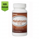 멜라토닌 10mg (60정), GNC Melatonin 10mg 60 Vegetarian Tablets