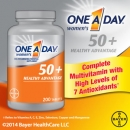바이엘 여성용 원어데이 50 플러스 (200정), Bayer One A Day Women′s 50+ Healthy Advantage 200 Tablets