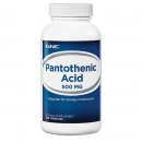 판토텐산 500mg (100정), GNC Pantothenic Acid 500mg 100 Capsules