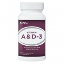 비타민 A & D3 (100정), GNC Vitamin A & D3 100 softgels