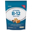 비타민 B12 소프트 츄 초콜릿 (60정), GNC Vitamin B-12 Soft Chew 2500 MCG 60 Soft Chews