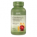 허브 플러스 크렌베리 & 비타민 C (60정), GNC Herbal Plus Cranberry & Vitamin C 60 Capsules