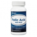 엽산 400mcg (100정), GNC Folic Acid 400 mcg 100 Vegetarian Tablets