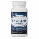 엽산 800mcg (100정), GNC Folic Acid 800 mcg 100 Vegetarian Tablets