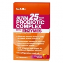 유산균 컴플렉스 25 엔자임 (30정), GNC Ultra 25 Probiotic Complex with Enzymes 30 Capsules