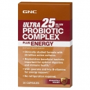 유산균 컴플렉스 25 플러스 에너지 (30정), GNC Ultra Probiotic Complex 25 Plus Energy 30 Capsules