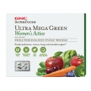 여성용 울트라 메가 그린 엑티브 비타팩 (30팩), GNC SuperFoods Ultra Mega Green Women′s Active Vitapak 30 Packs