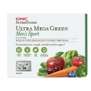 남성용 울트라 메가 그린 스포츠 비타팩 (30팩), GNC SuperFoods Ultra Mega Green Men′s Sport Vitapak 30 Packs