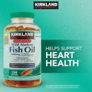 커크랜드 알라스카 피쉬오일 1400mg (230정), Kirkland Signature Wild Alaskan Fish Oil 1400mg 230Softgels