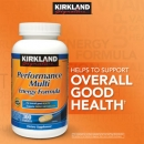 커크랜드 퍼포먼스 멀티 에너지 포뮬라 (300정), Kirkland Signature Performance Multi Energy Formula 300Tablets
