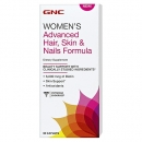 여성용 헤어, 스킨 & 네일 포뮬라 (60정), GNC Women′s Advanced Hair, Skin & Nails Formula 60Caplets